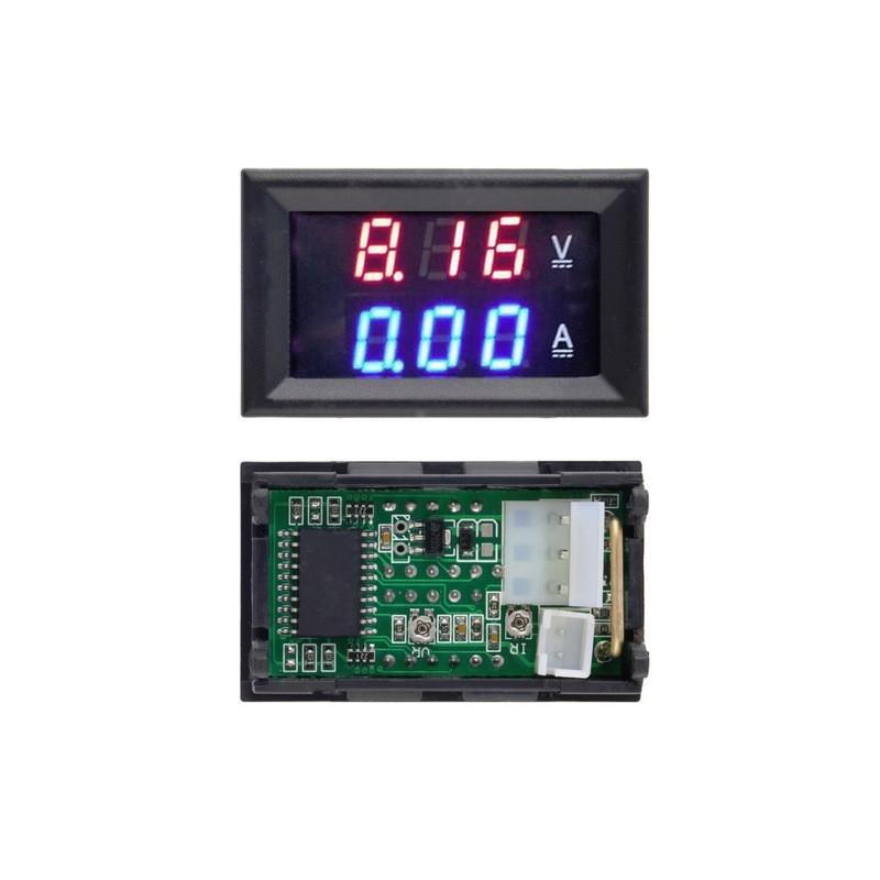 Medidor De Voltaje Y Corriente Dc C Amp D Technologia