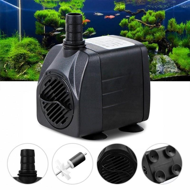 Mini bomba sumergible 210g h c d technologia for Bomba para fuente de jardin