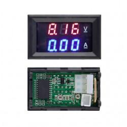 Medidor de Voltaje y corriente DC