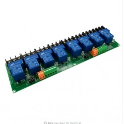 Rele 8 canales 12V 30A