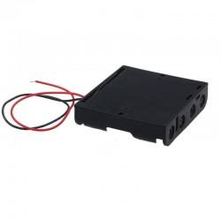 Contenedor de 4 baterias AA