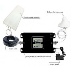 Amplificador de señal celular 2G/3G/4G, 850/1700/2100MHz