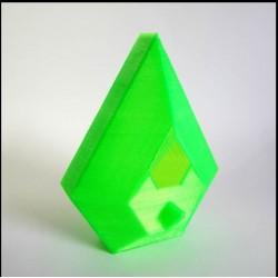 Filamento ABS solutech  verde manzana 2.2 lb