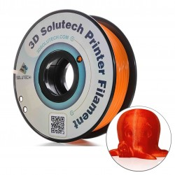 Filamento PLA solutech  Naranja translucido  2.2 lb