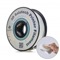 Filamento flexible solutech Blanco2.2 lb