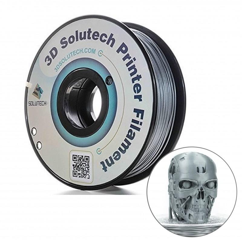 PLA filamento silver metal 1.75MM