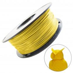 Melca filamento para impresion 3D PLA  Amarillo