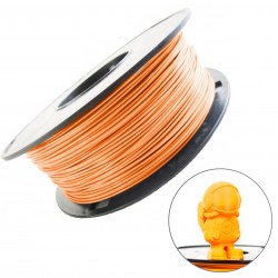 Melca filamento para impresion 3D naranja