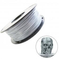 Melca filamento para impresion 3D Silver