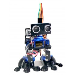 Kit Robot bipedo DIY accionado por bluetooth