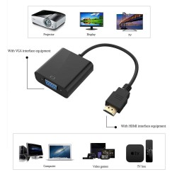 Adaptador de video HDMI a VGA
