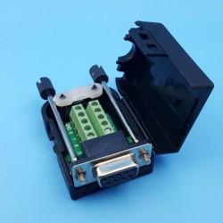 Conector DB9 hembra con...