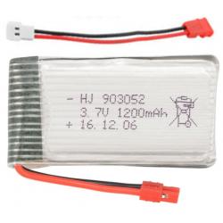 Batería tipo LiPo 3.7V 1200mAh