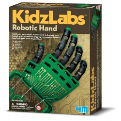 Robot Kids experimento mano...