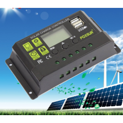 Controlador solar de 30A