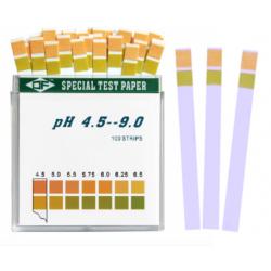 100 Tiras de prueba de pH...
