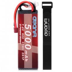 Batería tipo LiPo 7.4V 5000mAh