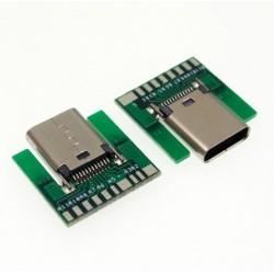 Puerto USB tipo C para PCB