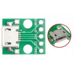 Adaptador MICRO USB a  DIP...