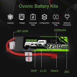 Batería tipo LiPo 11.1V...