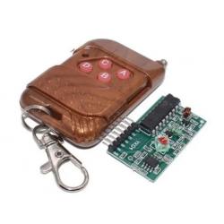 Control remoto RF 4 botones...