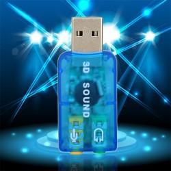 adaptador de USB a 3.5mm de PC