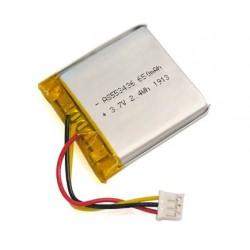 Batería tipo LiPo 3.7V 630mAh