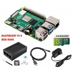 Kit Raspberry Pi 4 Modelo B...