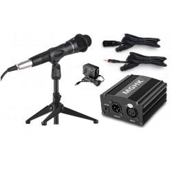 Microfono con tripode y...