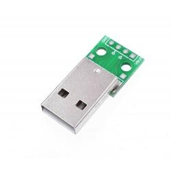 Puerto USB macho 2.0 para...