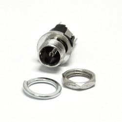 Jack DC Con tuerca 5.5x2.1mm