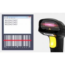 Escáner de códigos de barra...