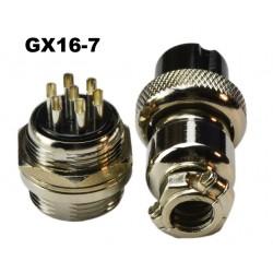 Conector GX16-7 tipo...