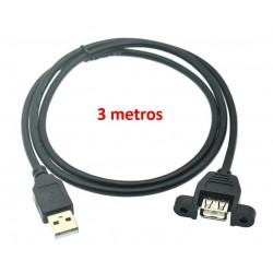 Extensión USB Hembra -...