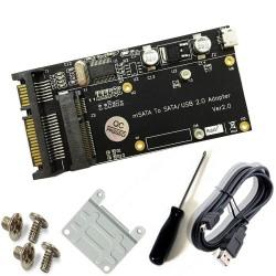 Adaptador de USB 2.0 mSATA...