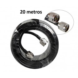 Cable RG8 con conector RF...
