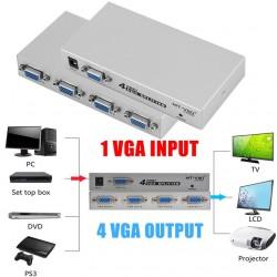 Sepador VGA 1 entrada 4 Salidas