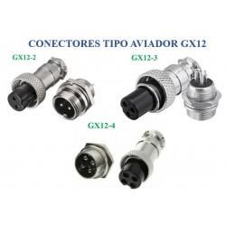 Conectores GX12 tipo...