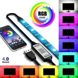 Luces LED RGB para TV USB...