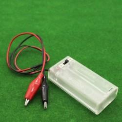Contenedor de 2 baterías AA...