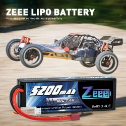 Batería tipo lipo Zeee 7.4V...