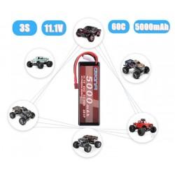 Batería tipo LiPo 11.1V 60C...