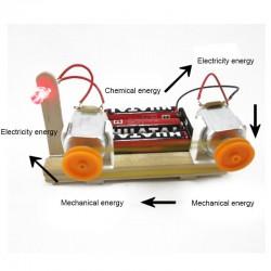Experimento Conversion de energía Motor Generador