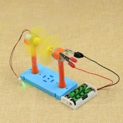 Experimento energía Eólica para niños