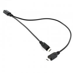Splitter micro USB