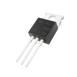 Transistor MOSFET IRF740PBF