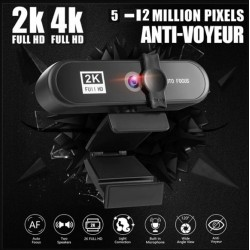 Camara WEB PGR-008 8802 2K...