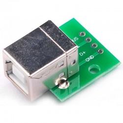 Puerto USB-05 tipo B de 4...