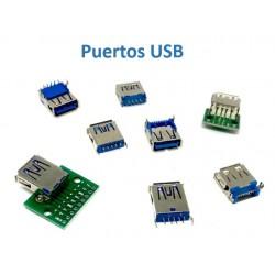 Puerto USB hembra 2.0 / 3.0...