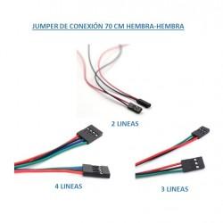 Jumper de Conexión 70 CM...